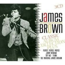JAMES BROWN - CLASSIC ALBUM COLLECTION PLUS 3 CD NEW+