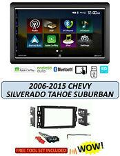 2006-2015 CHEVROLET SILVERADO TAHOE STEREO KIT, Apple CarPlay Android Auto