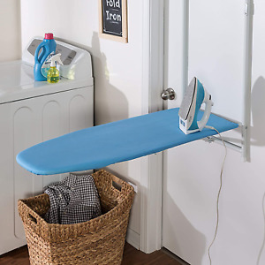 Over The Door Ironing Board Wall Mounted Space Saving Pull Out Tabla De Planchar