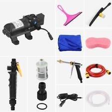 12V 70W High Pressure Car Washer Cleaner Water Wash Pump Sprayer Kit USA Stock