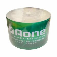50 x AONE DVD+R 16x White Full Face Inkjet Printable Blank Discs 4.7GB 120mins