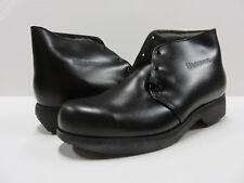 NOS In BOX Hanover Shoes Black Boot Shoe Men's Adult Size 9.5 M VTG Leather