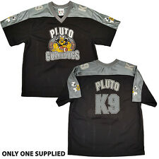 More details for walt disney world parks pluto guard dogs ice hockey jersey top shirt kids k9 xl