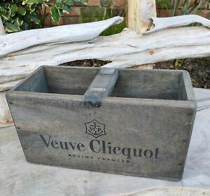 Veuve Clicquot Vintage Style Wooden Box 30cm × 14cm × 16cm,