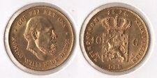 """Niederlande 10 Gulden 1875 GOLD """"Wilhelm III. (1849-1890)"""" vz+/f.Unc."""