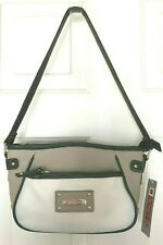 Rosetti Women's Color Block Textured Handbag Studs Accent, Gray Multi $39 RARE
