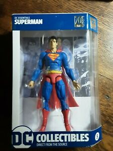"""DC Collectibles Essentials 05 Superman 7"""" Action Figure 2018 New Sealed"""