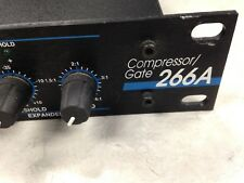 DBX 266A STEREO COMPRESSOR/GATE MADE IN USA MINTY CONDITION*** $48.00 NOW!