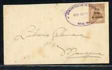 Nicaragua Postal Stationery PSE - H&G #79 1916 2c/35c Waterlow RIVAS - MANAGUA $