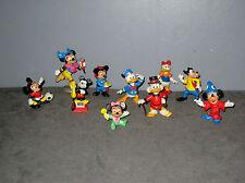 Lot de 10 Figurines Bully Mickey/Picsou/Minnie/Daisy/Donald/Goofy