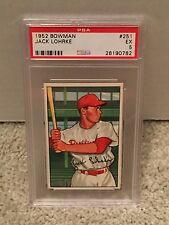1952 Bowman #251 - JACK LOHRKE - PSA 5 EX *CENTERED* Philadelphia PHILLIES - RH