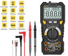 Digital Multimeter True RMS Messgerät Strommesser Voltmeter Amperemeter PCW 02 A