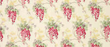 LAURA ASHLEY WISTERIA ~ CRANBERRY Roman Blind,
