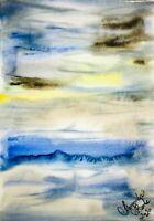 Malerei PAINTING zeichnung Margarita Bonke Landscape Landschaft akt Aquarell psy