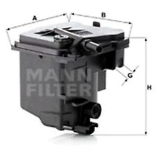 Mann Filtro De Combustible en Línea para Citroën Berlingo 1.6 HDI 110 1.6 HDI/BlueHDi 75