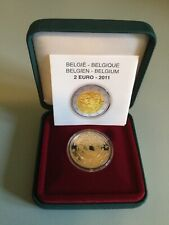 """2 euro PP Belgien 2011 """"Frauentag"""""""