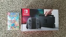 NEW SHIPS FAST Nintendo Switch Console Bundle w/ MARIO RABBIDS Game IN HAND NOW!