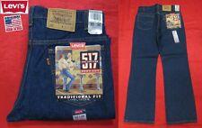 New listing New Vintage Levi'S 517 Orange Tab Boot Cut Indigo Denim Jeans Usa Made 32x30