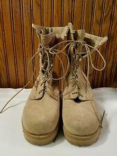 Clean Altama Military Sand Steel Toe? Army Desert Boots 6 1/2 RW 5800 6090073