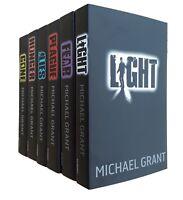 Gone Series Michael Grant 6 Books Kids Children Hunger Lies Fear Light New