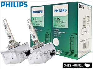 D3S Philips X-treme Vision  HID XENON Bulbs +150% 4800K GERMANY 42403XV2C1