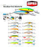 Rapala MaxRap® Fat Minnow Slow Rising on Pause Fishing Lure 9cm 13g Various Colo