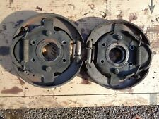 Ford Tractor Jubilee Brake Plate W/shoes, spring,adjuster,keeper, bearing retain