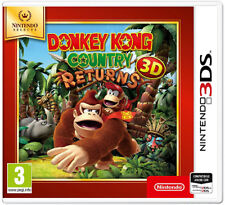 Nintendo 3ds Donkey Kong Country Returns 3d Select