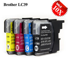 10x Ink Cartridges LC 39 LC 985 for Brother DCP J125 J315W J515W MFC Printer