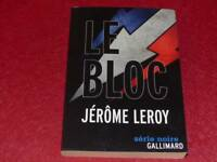 [Bookshelf H. & P-J.oswald] Jerome Leroy/ The Block Eo 2011 Signed! (At We)