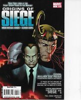 ORIGINS OF SIEGE #1 MARVEL COMICS 2009 BENDIS BAGGED AND BOARDED!