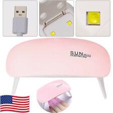 Portable 6W Mini Uv Led Lamp Usb Charging Gel Polish Curing Machine Nails Dryer