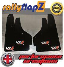 Rally Mud Flaps & Fixings VAUXHALL CORSA E VXR (15-19) Black 4mm PVC Logo Silv/R
