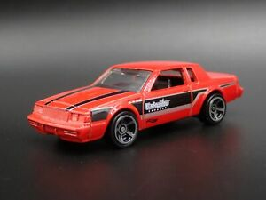1987 87 Buick Grand National Gnx Black Widow Rare 1:64 Scale Voiture Miniature