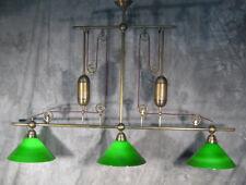 Billardlampe Lampe Leuchte ELEGANCE 3 flammig messing Ø 35cm