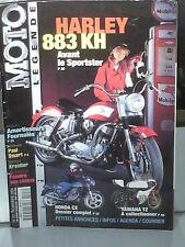 MOTO LEGENDE : HARLEY DAVIDSON KH 883, HONDA CX, YAMAHA TZ 250/350, KREIDLER