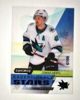 2020-21 UD Synergy Exceptional Stars Black #ES-12 Tomas Hertl /99
