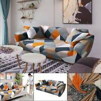 Sofa Covers Multicolored 2/3 Seater Slipcover Elastic Stretch Settee Protector