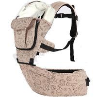 Porte-bébé avec siège au niveau des hanches Sac à dos bébé