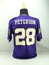 ADRIAN PETERSON 28 Minnesota Vikings NFL Team Apparel Football Jersey Medium M