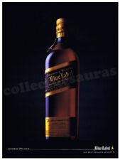 Johnnie Walker BLUE LABEL Bottle advertisement A4 size HQ print