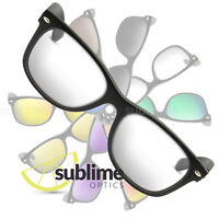 UV400 Clear Replacement Lenses For Ray Ban RB2132 New Wayfarer 52mm ~ Safety