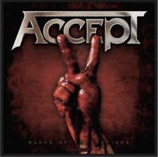 Accept Blood Of The Nations Woven Patch UDO Manowar Kreator