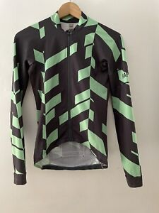RAPHA  Long Sleeve Jersey Mens XS (fits Women S) Data Print