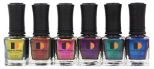 LeChat Dare To Wear Nail Lacquer Metallux Set 6 pcs (MLDW01-06)