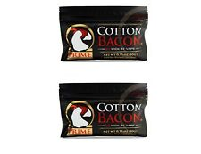 Cotton Bacon PRIME By Wick 'N' Vape Organic Wicking Material Tasteless - 2 Packs