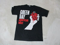 Green Day American Idiot Concert Shirt Adult Medium Black Red Grenade Band Tour