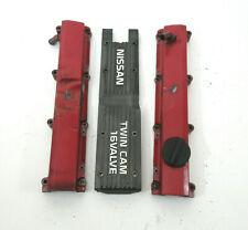 1987-90 Nissan Pulsar NX SE CA16DE CA18DE T Engine Valve Cover Rocker Spark Plug