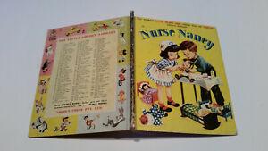 OLD Little Golden Book 1stSYD NURSE NANCY old spine 4sq CORINNE MALVERN GORGEOUS