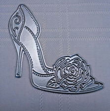 New Tattered Lace High Heeled Kick Of Your Heels Shoe Cutting Die TLD0210